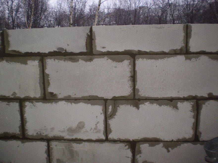 Стена из пеноблоков своими руками
