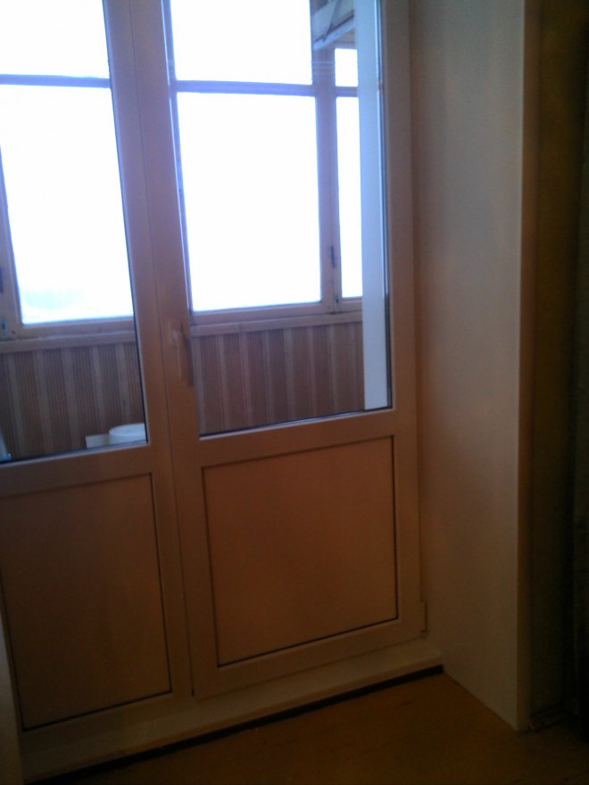 Установка балконной двери. котлячков василий викторович - kv.